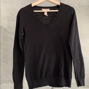 Banana Republic soft wool vneck sweater